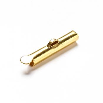 Затискачі для стрічок циліндр золото