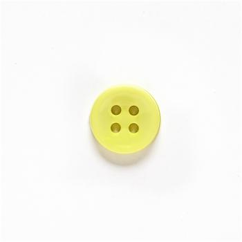 Гудзик пластиковий жовтий