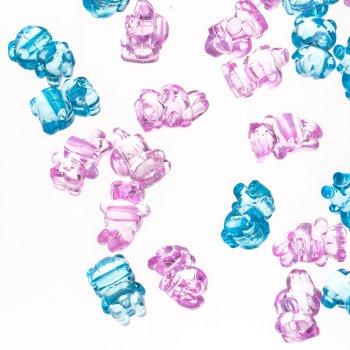Пластикові кристали в формі зайця