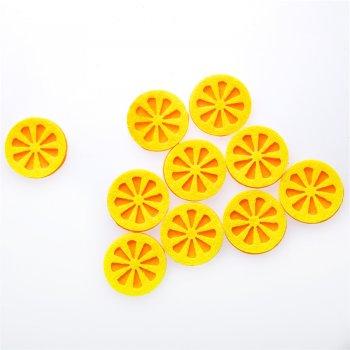 Фетровый элемент Долька Апельсина