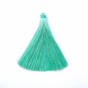 Текстильні китиці бірюзові