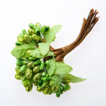 Декор Зелёные цветы