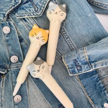 Ручка-антистрес котик
