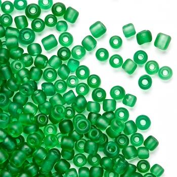 Бісер  дрібний, зелений. Калібр 12 (1,8 мм)