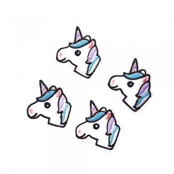 Тканинна нашивка Блакитний єдиноріг