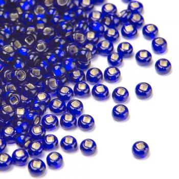 37100 чешский бисер Preciosa 5г  синий