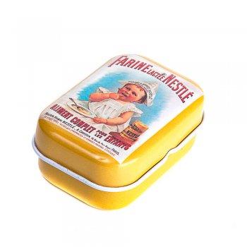 """Коробочка жестяная 6х4х2,5 см """"Nestle"""""""