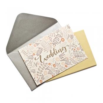 Открытка с конвертом Wedding