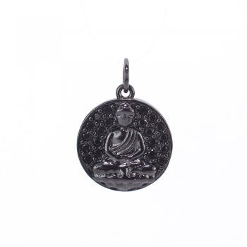 Кулон металевий Будда