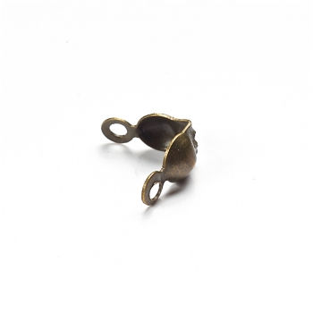 Затискачі для волосіні бронзовий 3 мм