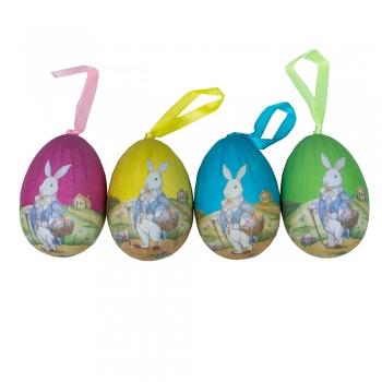 Декор великодній яйце з зайцем