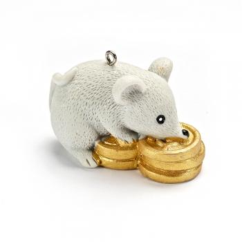 Декоративний елемент грошова мишка