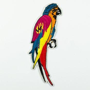 Тканинна нашивка Папуга Ара