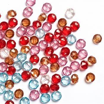 Пластиковые кристаллы микс 10 мм