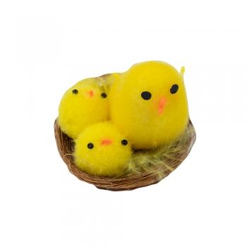 Декор великодній курчата в гнізді