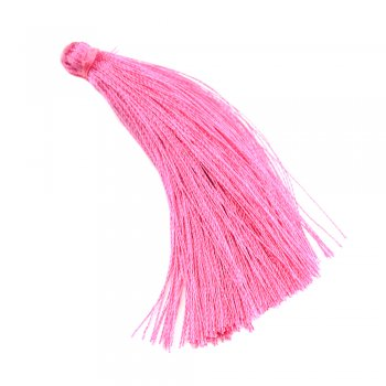 Текстильні китиці малинові