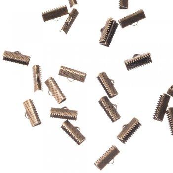 Затискачі для стрічок бронзовий 6 мм