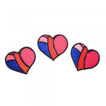 Тканевая  нашивка Сердце