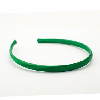 Обруч пластиковый с атласным покрытием зеленый