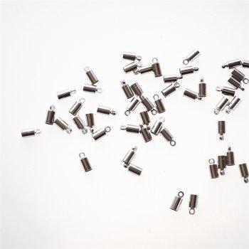 Колпачки мельхиоровые 5 мм