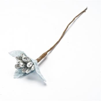 Декоративний елемент Срібна квітка