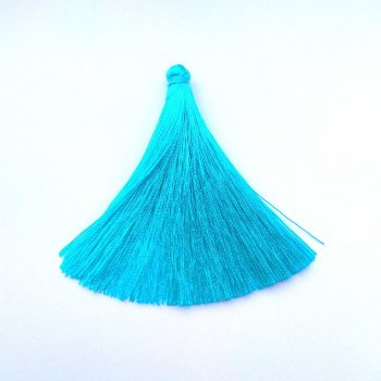Текстильні китиці темно-блакитні