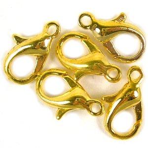 Карабін, золото, 12 мм