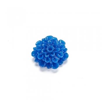 Пластикові клейові елементи. Квітка синя