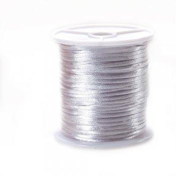 Шнур полиэстеровый, белый, 3 мм