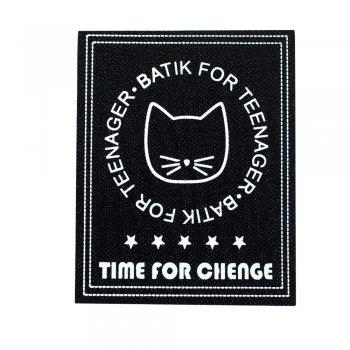 Тканинна нашивка Time for change