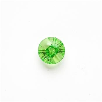 Гудзик пластиковий зелений