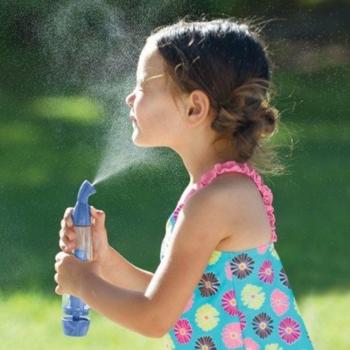 Распылитель воды «micro-mist technology», бирюзовый, механический.