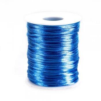 Шнур светло-голубой полиэстеровый 3 мм