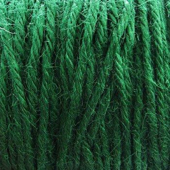 Нить джутовая зеленый