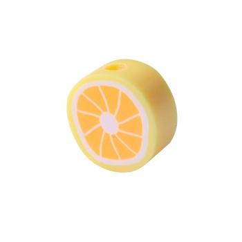Намистина з полімерної глини Оранжело 10 мм