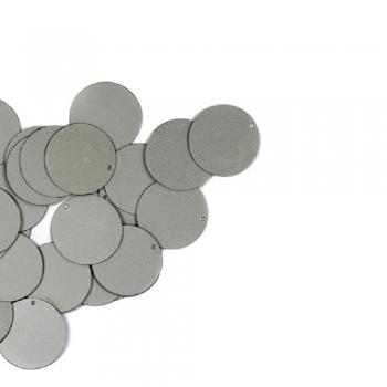 Паєтки сріблясті матові 0,040 кг