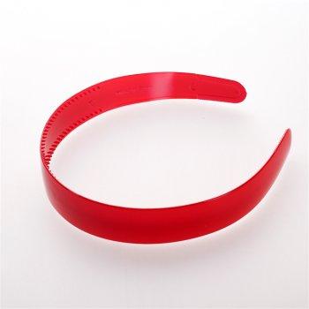 Обруч пластиковый красный ширина 25 мм