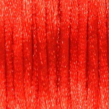 Шнур полиэстровый красный