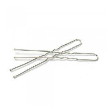Шпильки для волос (уп10шт) мельхиоровые