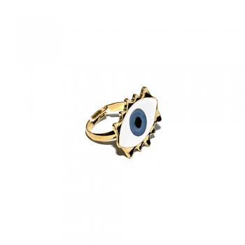 Металлическое кольцо Глаз