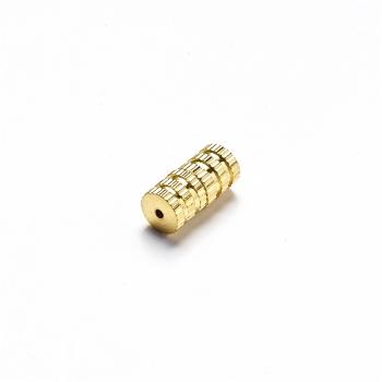 Замки закручивающиеся. Золотой. Длина 9 мм, диаметр 3,8 мм