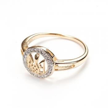 Металическое кольцо Герб LUX