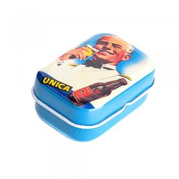 "Коробочка жестяная 6х4х2,5 см ""Unica"""