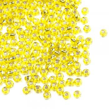 87010 чешский бисер Preciosa 5г  золотой