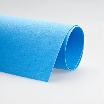 Фоамиран голубого цвета