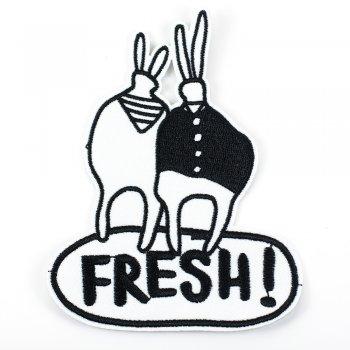 Тканевая нашивка Fresh!