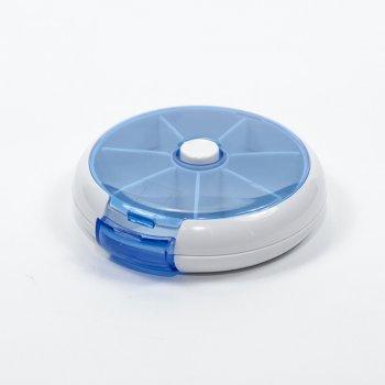 """Контейнер для рукоділля """"Синя центрифуга"""" 9х2 см"""