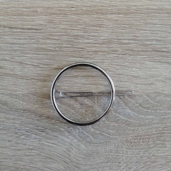 Заколка кругла для волосся