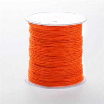 Нить полиэстеровая, оранжевая, 1 м