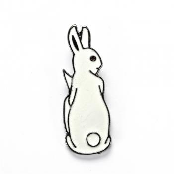Значок пін Кролики